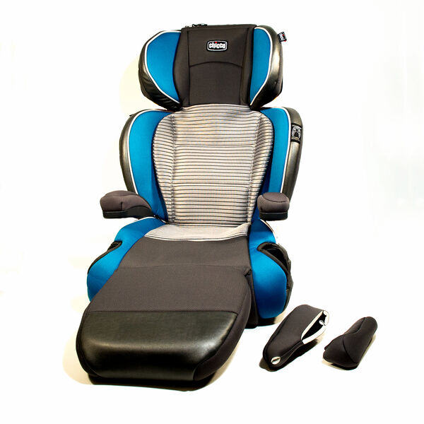 KidFit Zip Air Booster Seat Cover and Armrest - Ventata in