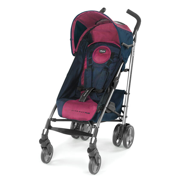Liteway Plus 2-in-1 Stroller - Blackberry in Blackberry