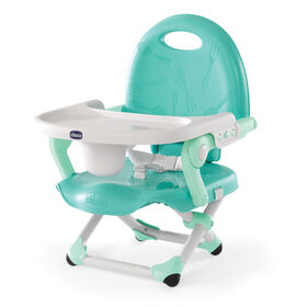 Chicco Pocket Snack Booster Seat in Modmint color