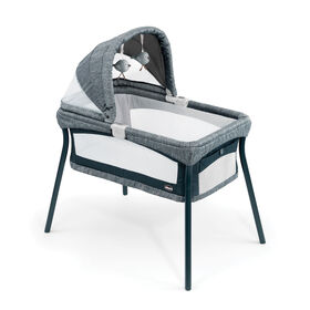 LullaGo Nest Portable Bassinet in Indigo