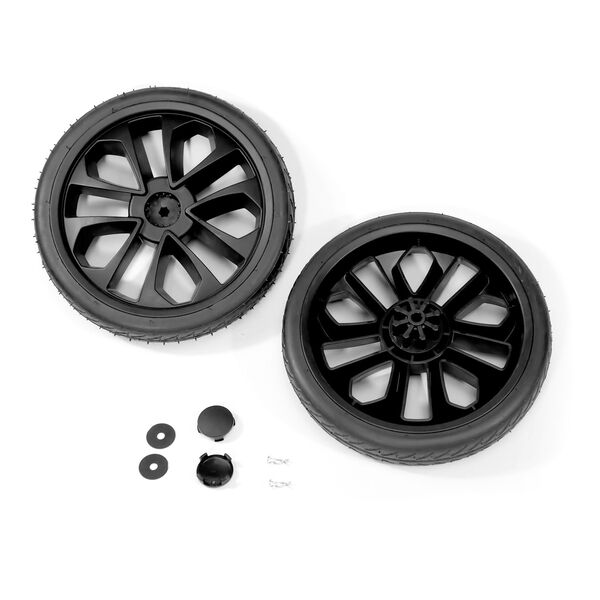 Bravo Primo Stroller - Rubber Rear Wheel Kit (2pc) in