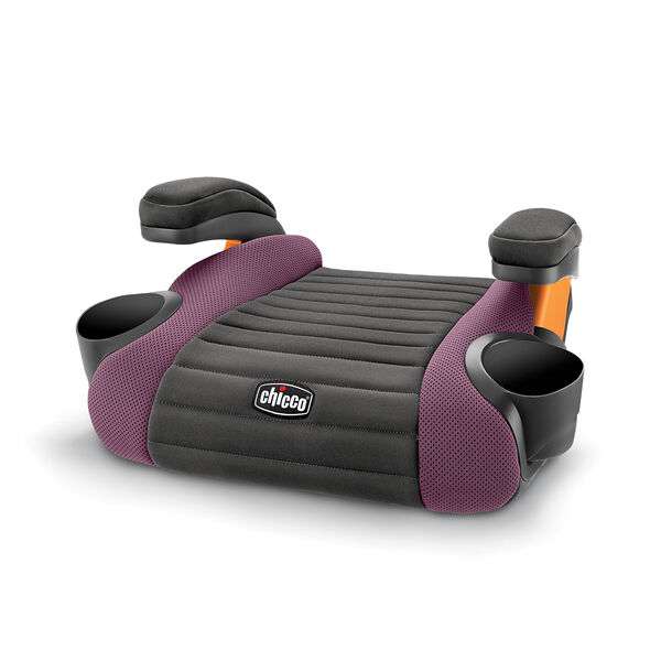 GoFit Backless Booster Car Seat - Grape in Grape
