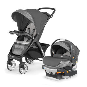 Chicco Bravo LE Travel System - Silhouette Fashion