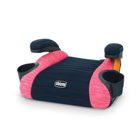 GoFit Backless Booster Car Seat in Hibiscus