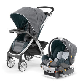 Bravo Trio Travel System in Poetic
