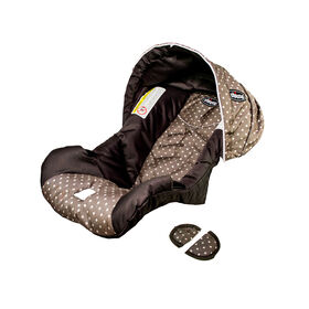 Chicco KeyFit 30 replacement seat cover, canopy, and shoulder pads for harness - Lilla