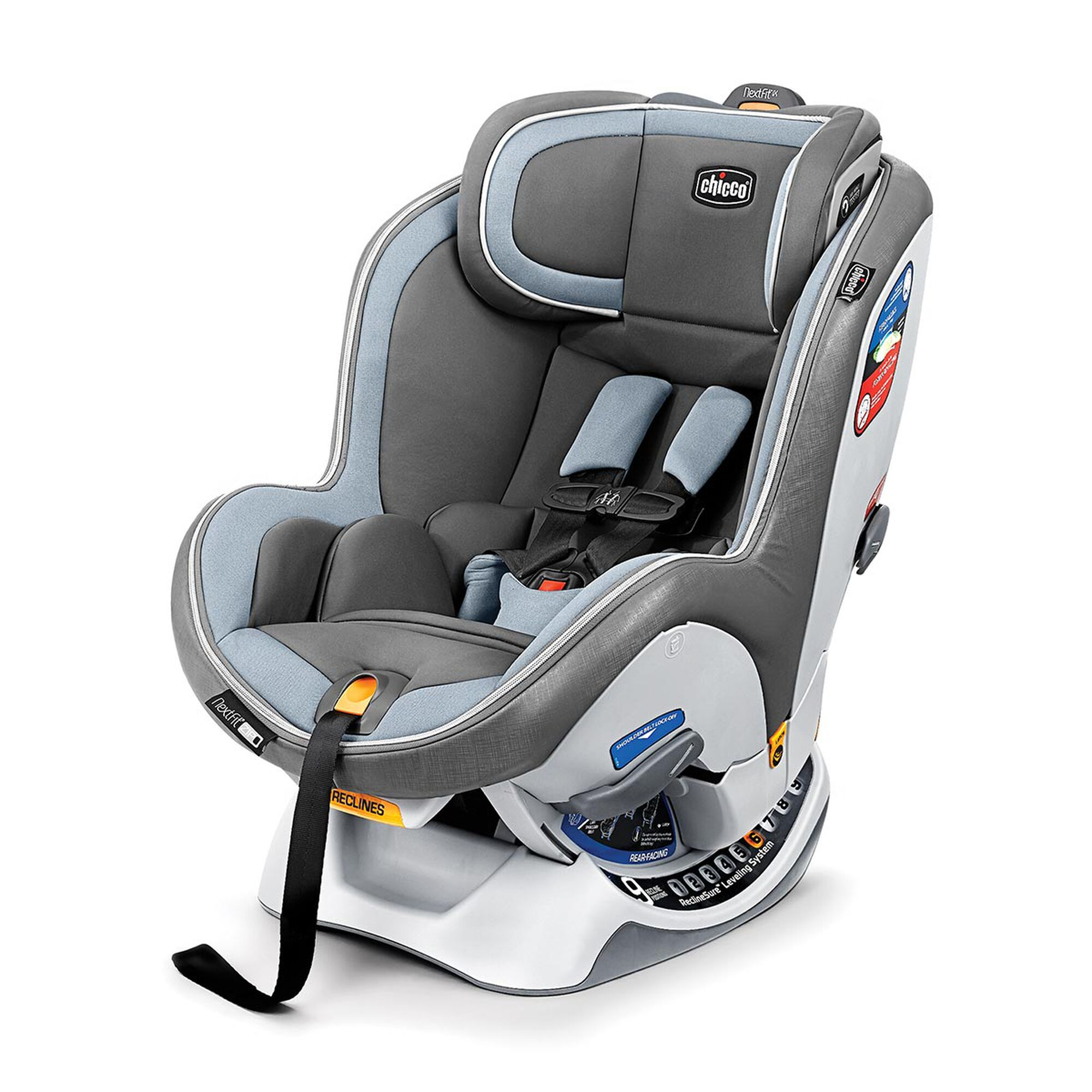 save off 35861 cb659 NextFit iX Zip Convertible Car Seat - Steel Blue in SteelBlue