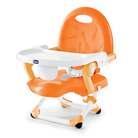 Chicco Pocket Snack Booster Seat in Orange color