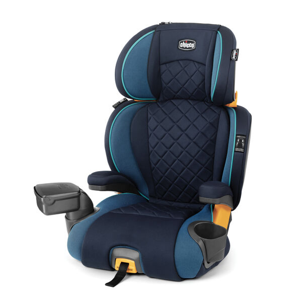 KidFit Zip Plus 2-in-1 Belt-Positioning Booster Car Seat - Seascape in Seascape