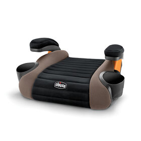 GoFit Backless Booster Car Seat in Caramel