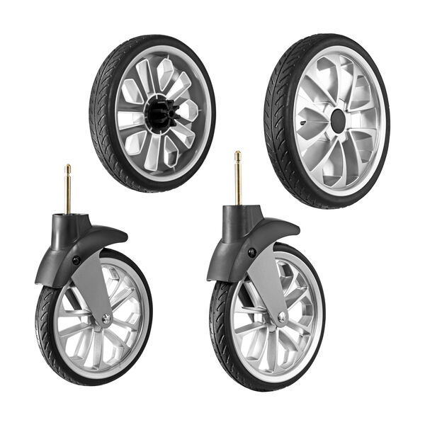 BravoFor2 Stroller - Rubber Wheel Kit in