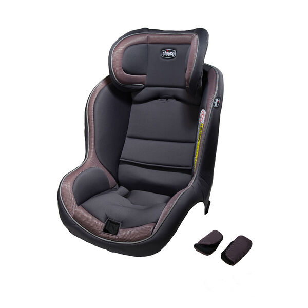 Chicco NextFit iX seat cover and shoulder pads in Charm fashion