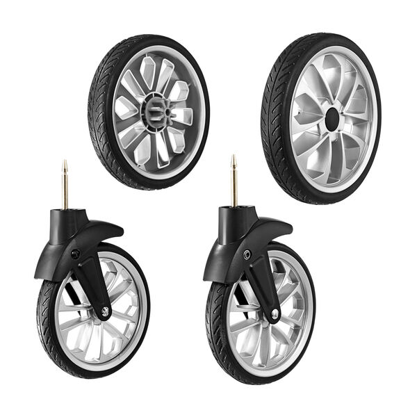 BravoFor2 LE Stroller - Rubber Wheel Kit in