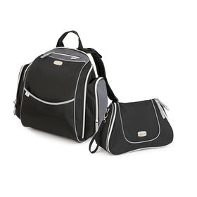 Urban Backpack & Dash Bag in Black