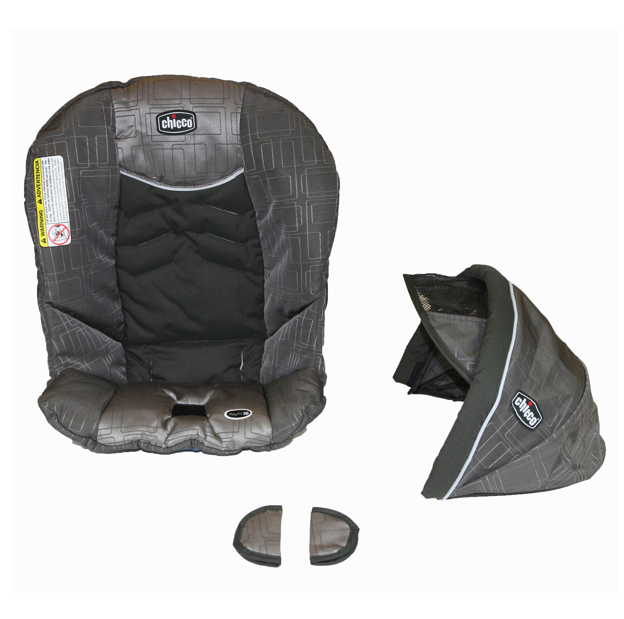 Chicco KeyFit 30 Seat Cover Canopy and Pads