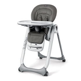 Chicco Polly2Start Highchair in the Graphite Fashion