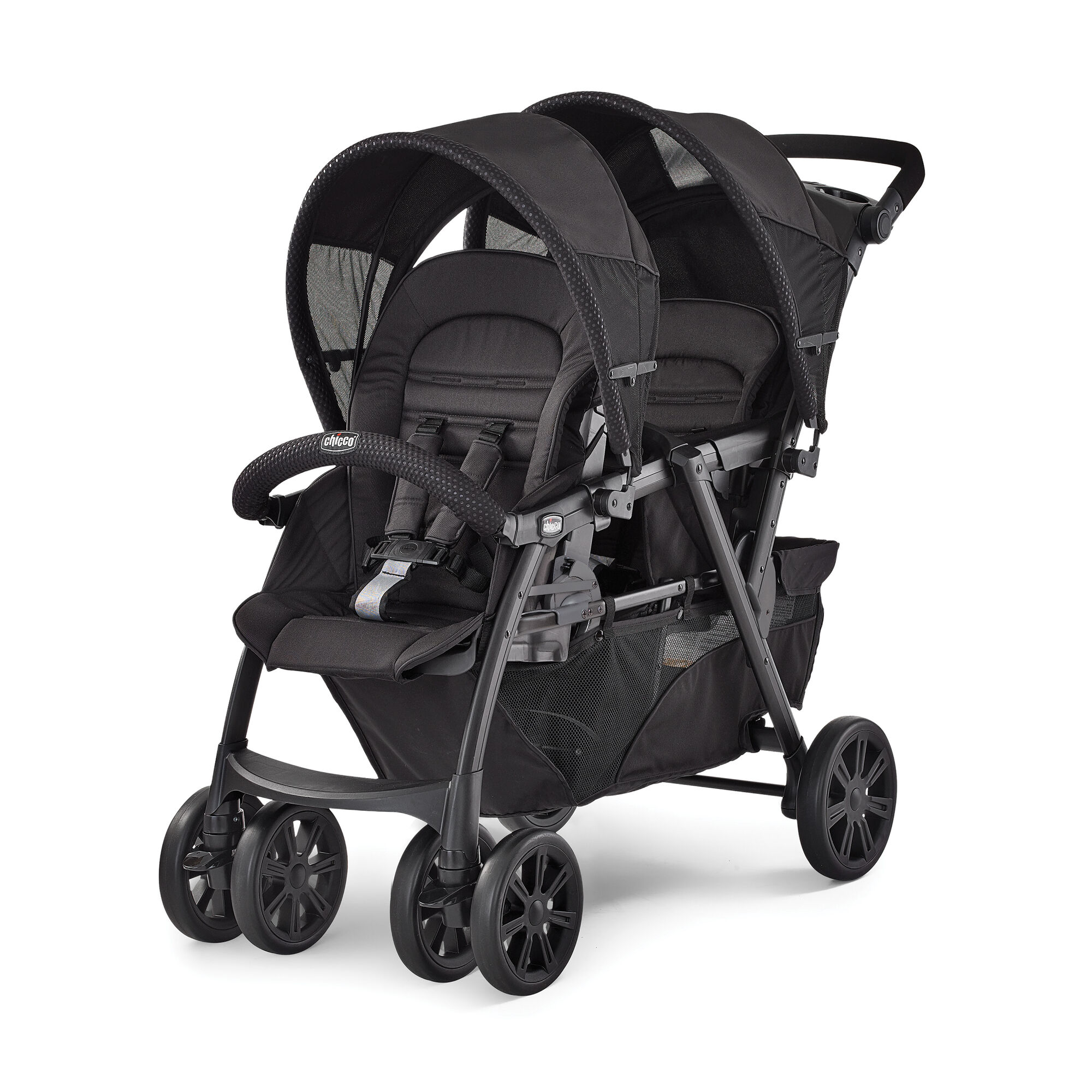 Chicco Cortina Together Double Stroller Obsidian