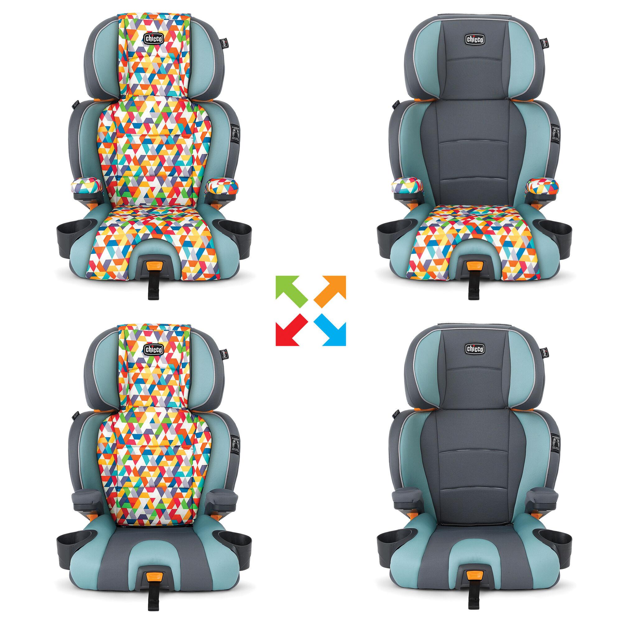 chicco kidfit zip 2 in 1 belt positioning booster seat wild. Black Bedroom Furniture Sets. Home Design Ideas