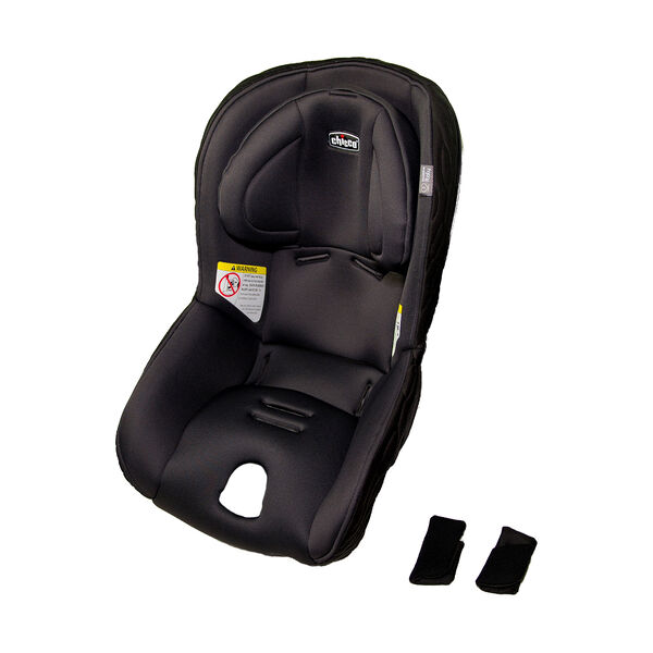 Fit2 Car Seat Cover, Pads, and Head Rest - Legato in Black