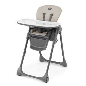 Chicco Polly Highchair in Taupe