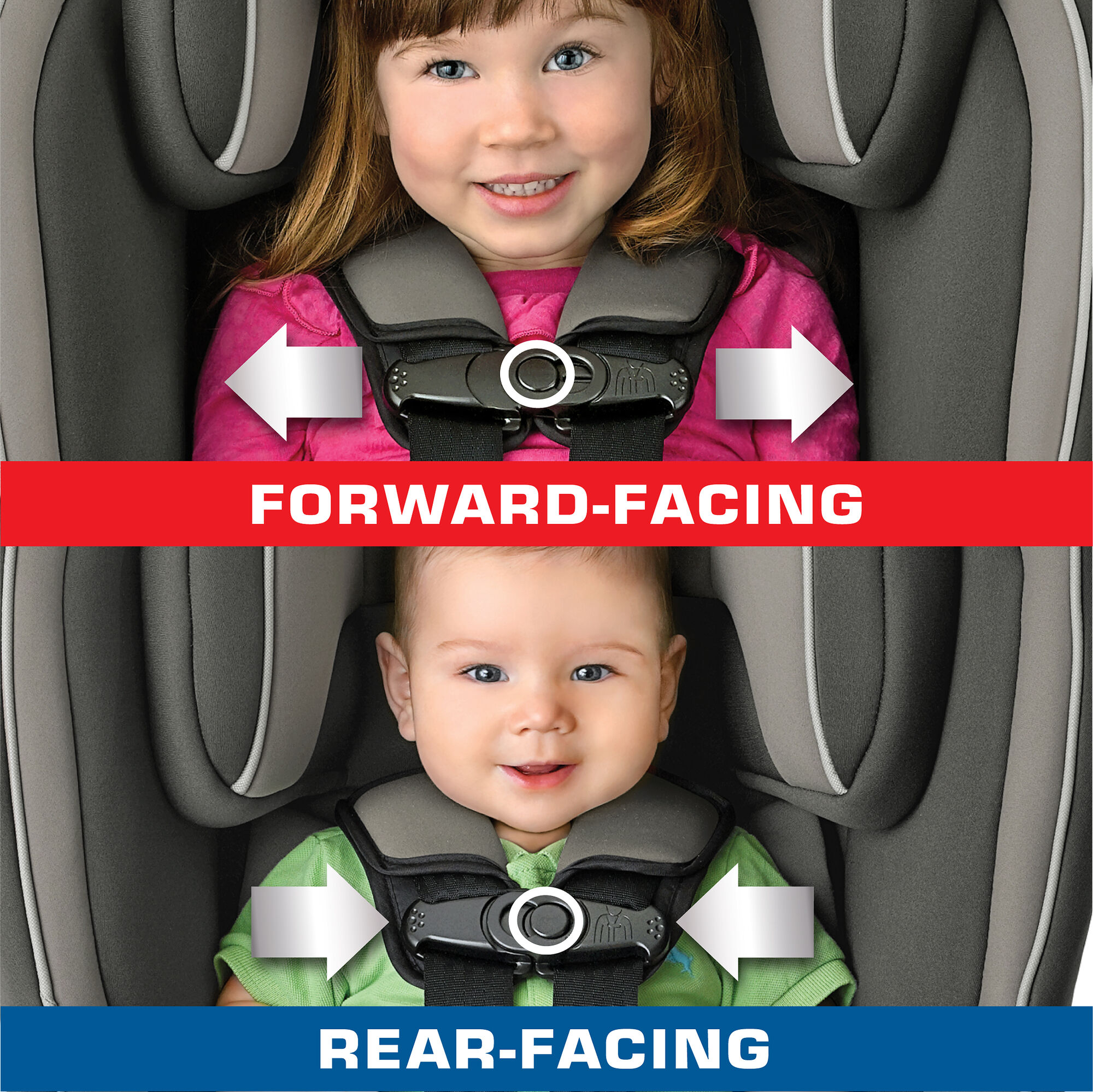 Nextfit Convertible Car Seat A 2 Position Chest Clip Provides More Accurate Fit For Infants And Toddlers In