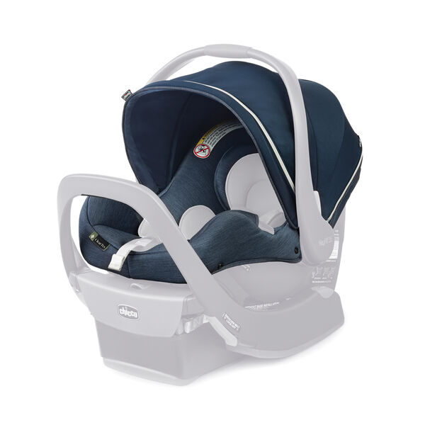 KeyFit 35 Zip ClearTex Infant Car Seat Cover, Canopy & Shoulder Pads - Reef in Reef