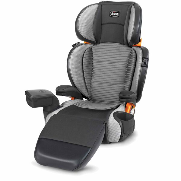 KidFit Zip Air Plus 2-in-1 Belt-Positioning Booster Car Seat - Atmos in Atmos