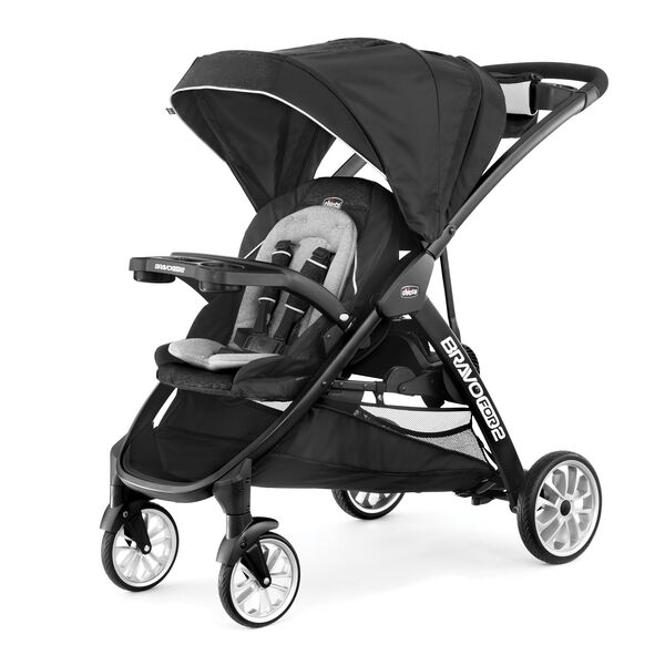 BravoFor2 LE Standing/Sitting Double Stroller in