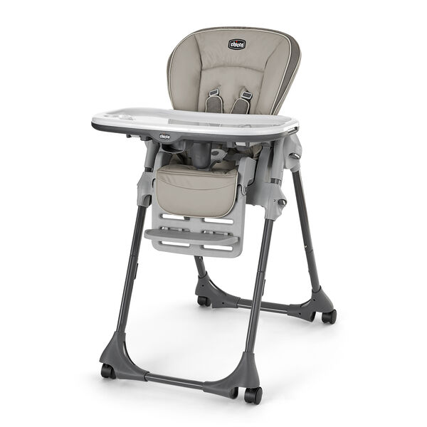 Chicco Polly Highchair in natural tan Papyrus color