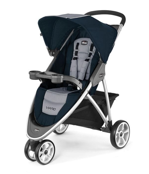 Viaro Quick-Fold Stroller - Regatta in Regatta