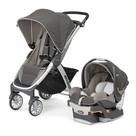 Bravo Trio Travel System in Papyrus