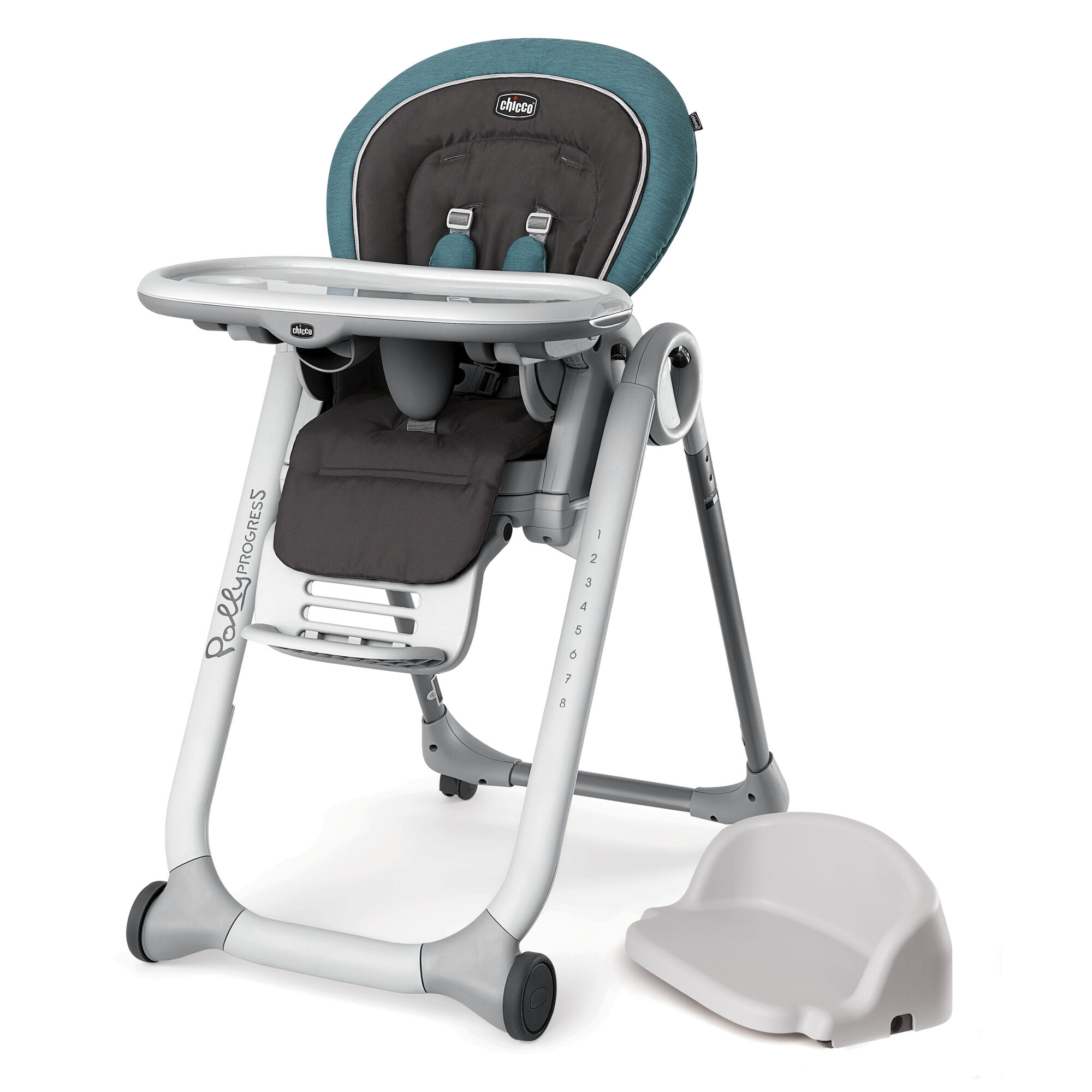 Polly Progress 5 In 1 Highchair Calypso Chicco