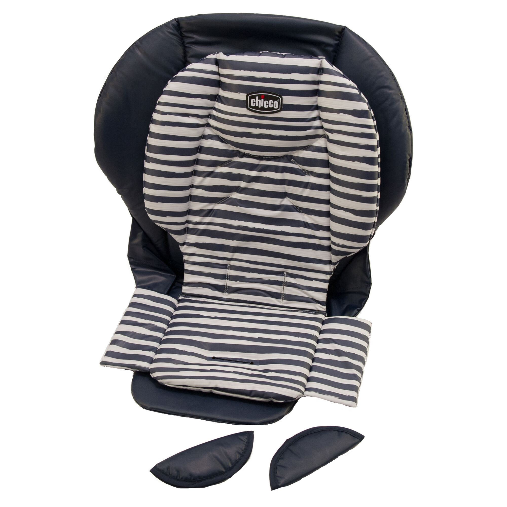 Replacement Seat Cushion Cover And Shoulder Pads For Chicco Polly 2017 Highchair