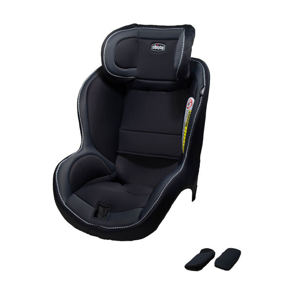 Chicco NextFit iX seat cover and shoulder pads in Mirage fashion