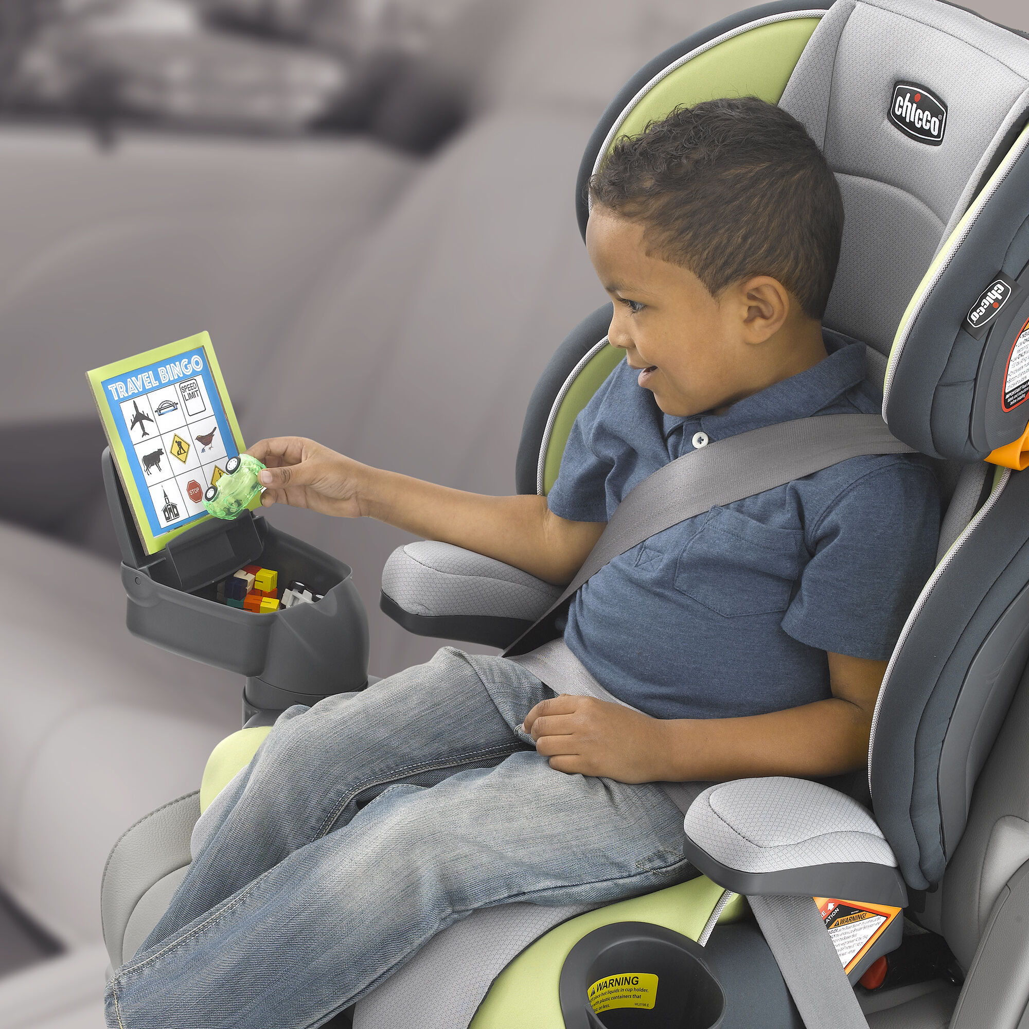 KidFit MyFit Booster Seat Cup Holder Console In