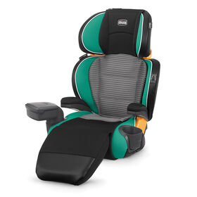 Chicco KidFit Zip Air Booster Car Seat in Surf fashion