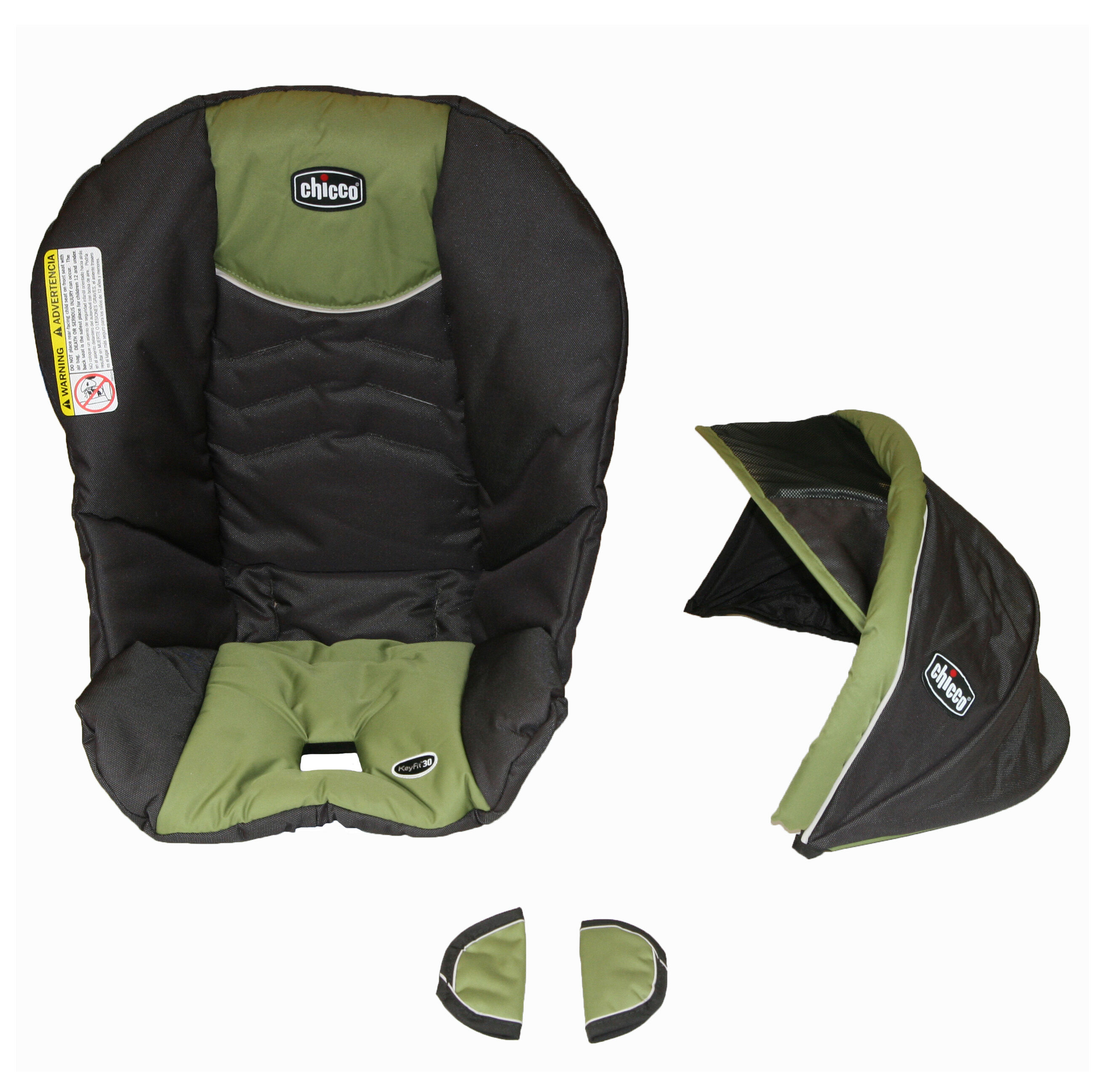 Chicco KeyFit 30 replacement seat cover canopy and shoulder pads for harness - Elm  sc 1 st  Chicco & Chicco KeyFit Seat Cover Canopy and Pads