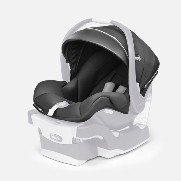 KeyFit 30 Zip Air Infant Car Seat - Seat Cover, Canopy & Pads - Atmos in