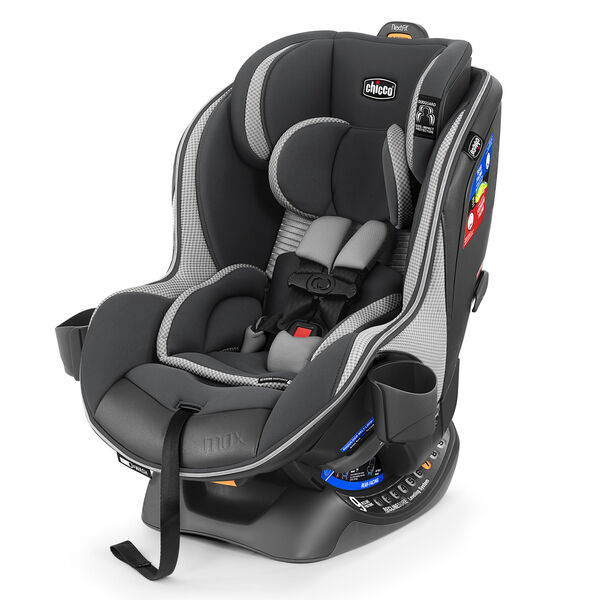 NextFit Zip Air Max Extended-Use Convertible Car Seat in