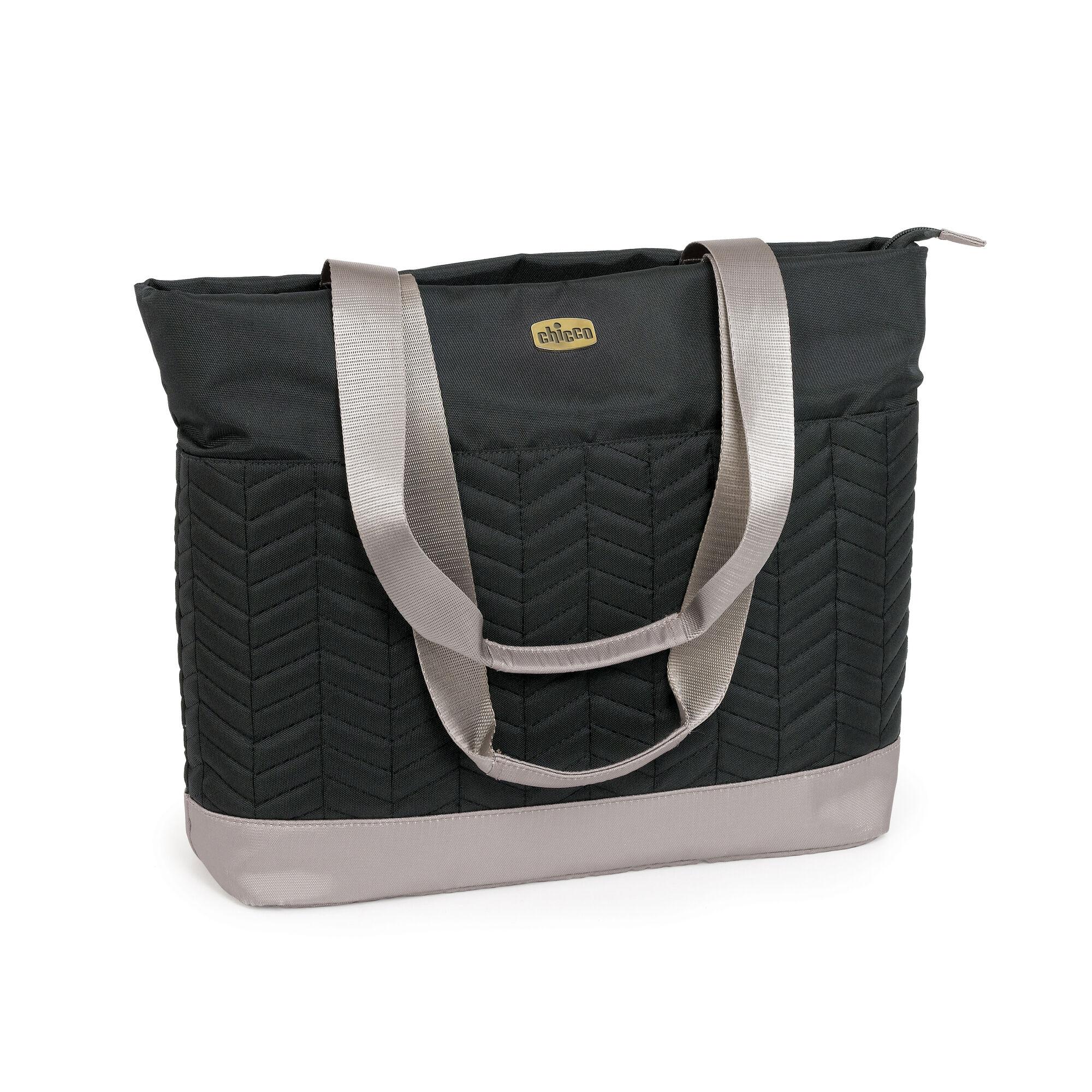 chevron tote bag black. Black Bedroom Furniture Sets. Home Design Ideas
