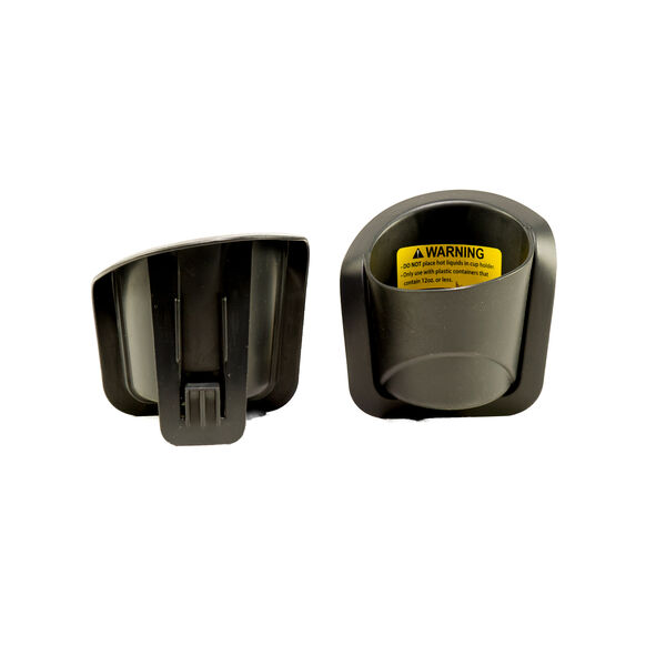 Set of two KidFit 2-in-1 Belt Positioning Booster Car Seat Replacement Cup Holders