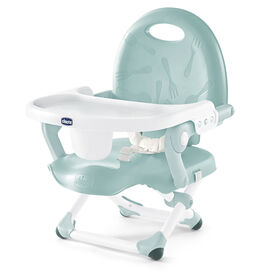 Chicco Pocket Snack Booster Seat in Greymist color