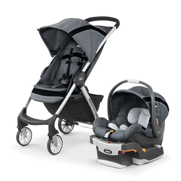 Chicco Mini Bravo Sport Travel System in the Carbon fashion