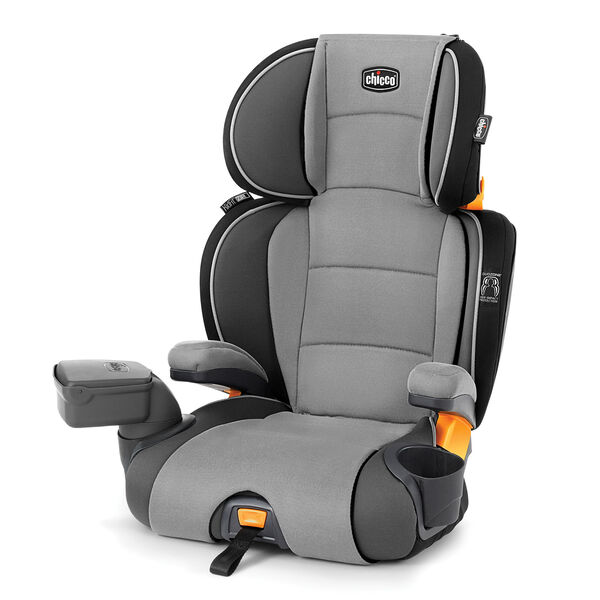 KidFit Zip 2-in-1 Belt Positioning Booster Car Seat - Spectrum in Spectrum