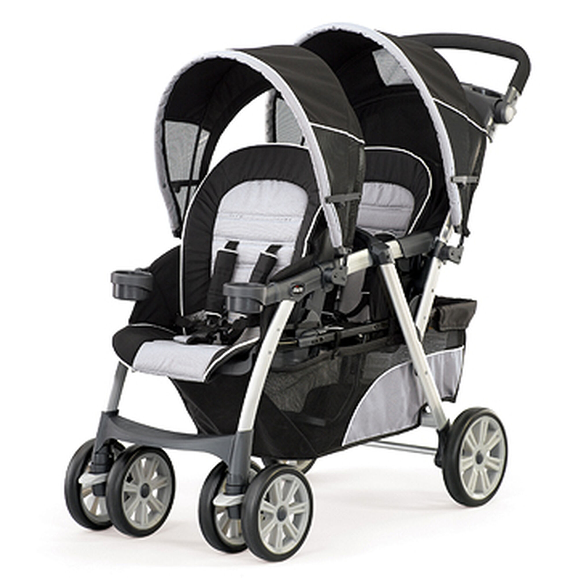 Chicco Cortina To her Double Stroller Romantic