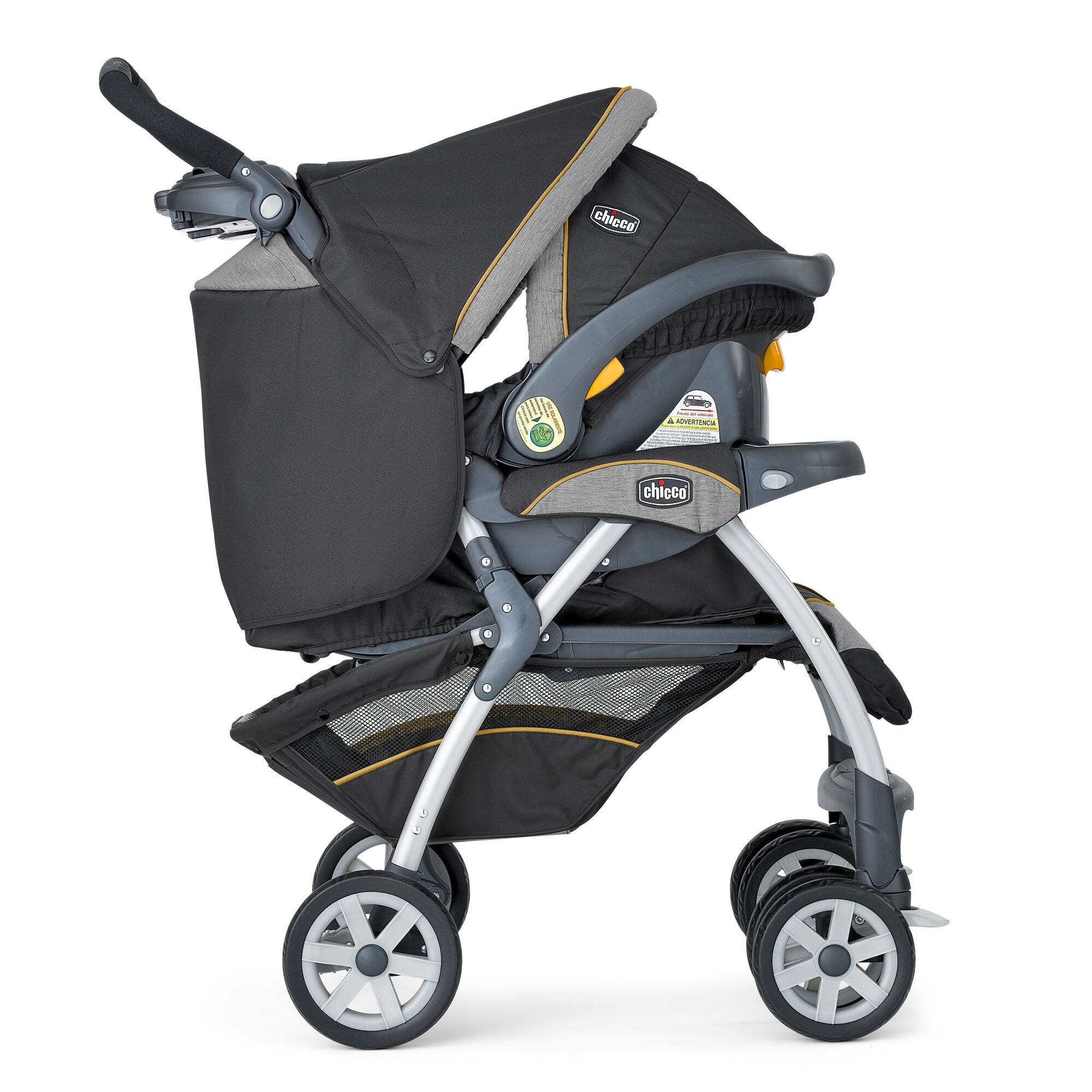 Cortina Stroller and Chicco Cortina KeyFit 30 travel system