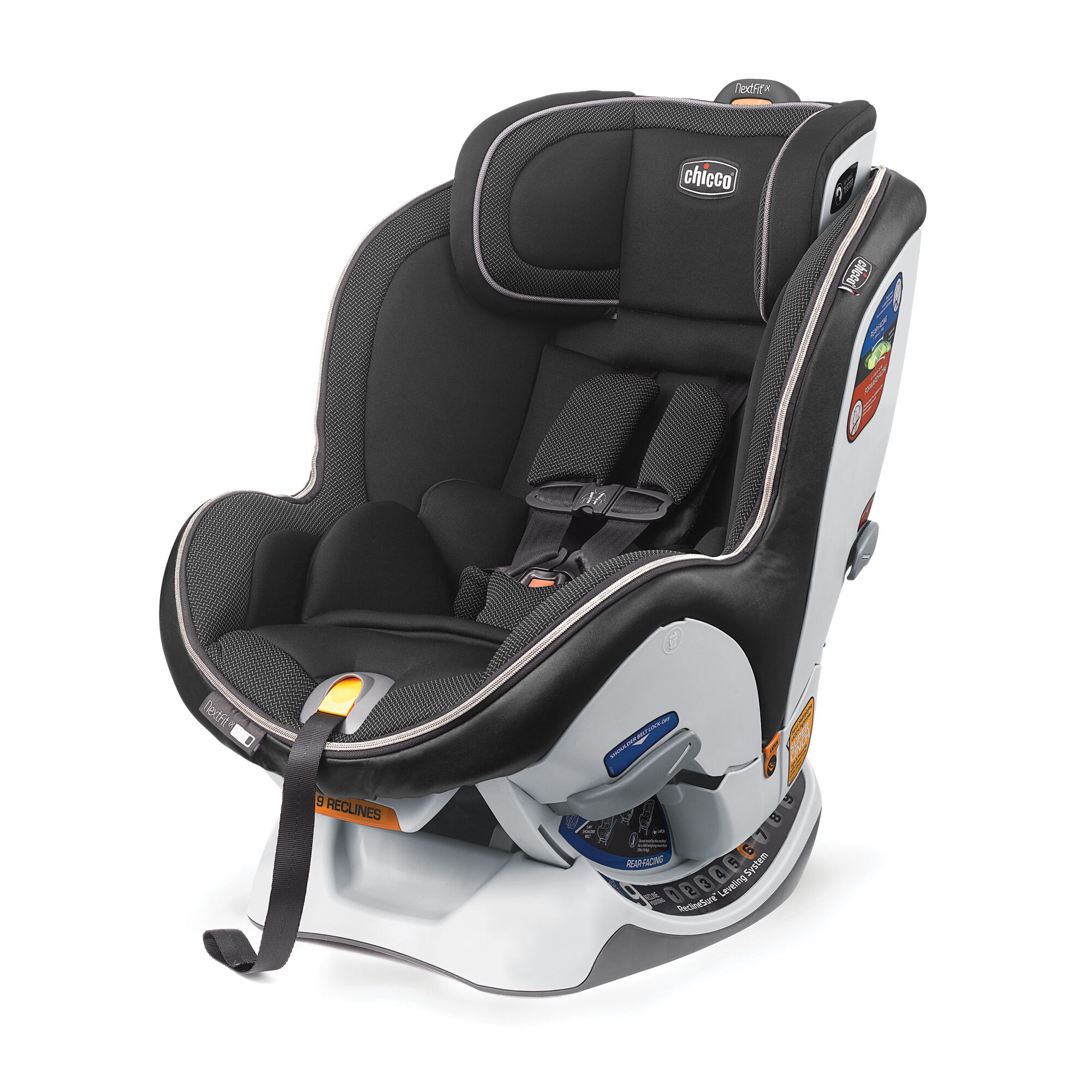 Chicco Nextfit Ix Zip Convertible Car Seat Traction