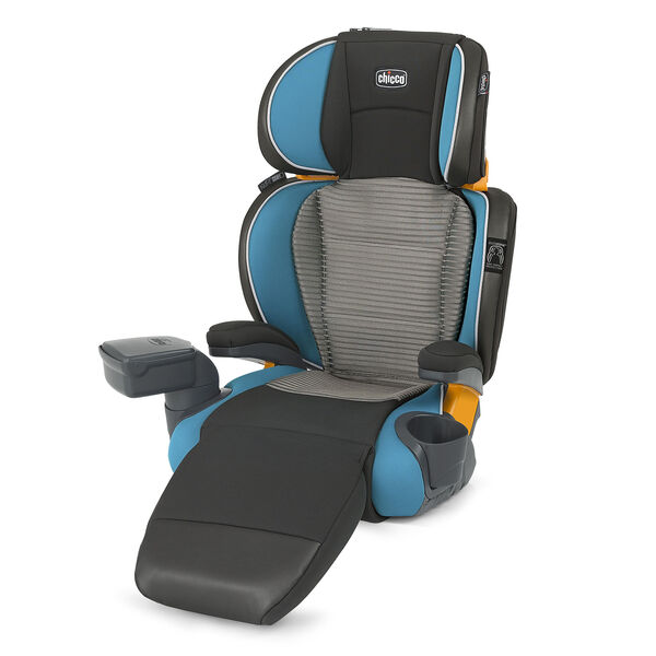Chicco KidFit Zip Air Booster Car Seat in Ventata fashion