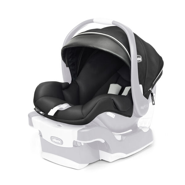 KeyFit 30 Zip Air Infant Car Seat - Seat Cover, Canopy & Pads - Q Collection in