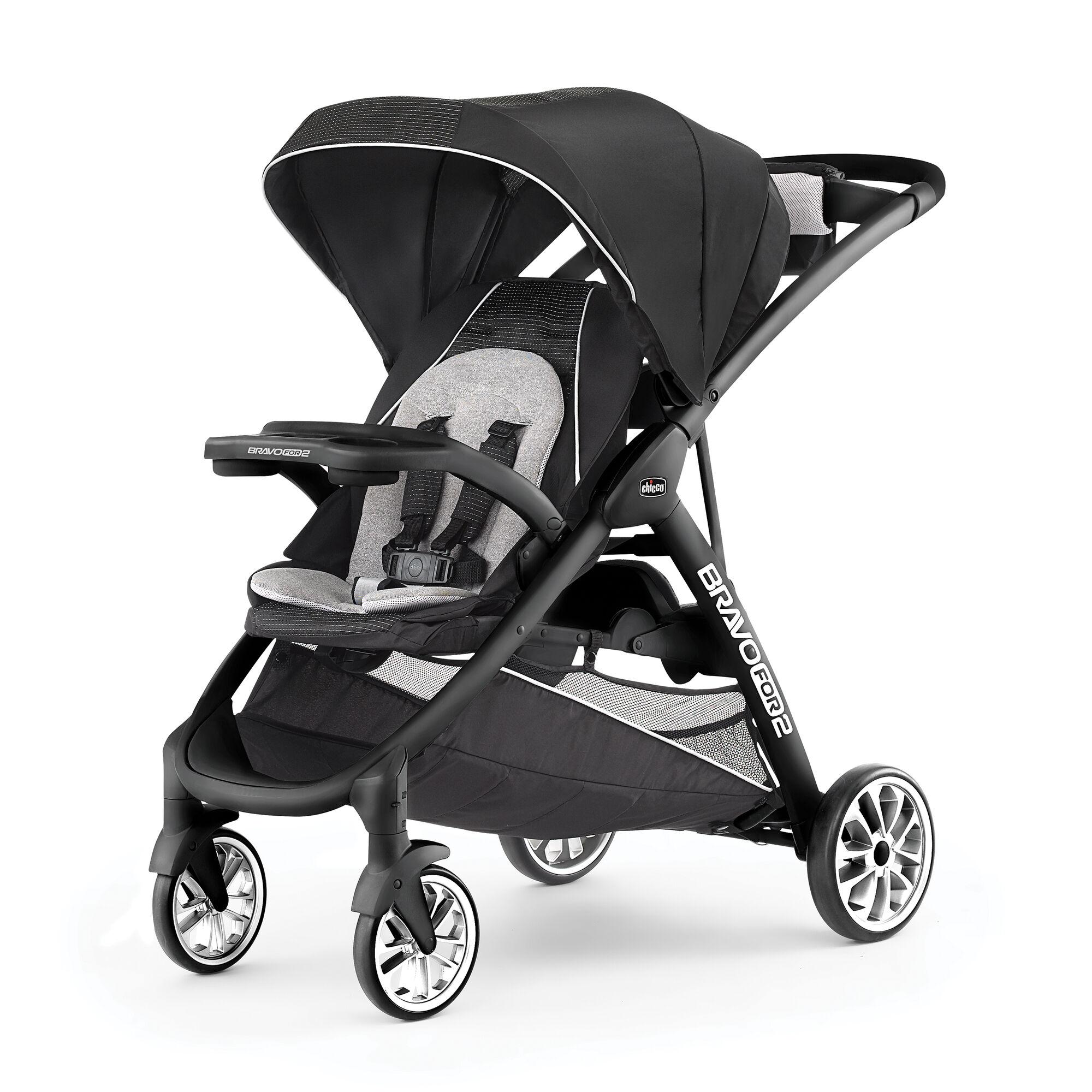 BravoFor2 LE Standing & Sitting Double Stroller - Genesis ...